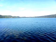 percorso a piedi lago di castel gandolfo