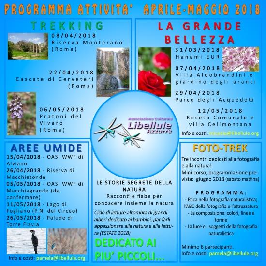 programma escursioni gennaio-marzo